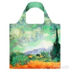 Складная сумка Пшеничное поле с кипарисами