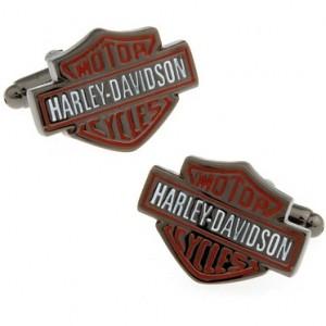 Запонки Harley Davidson