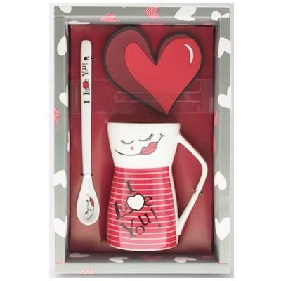 Чайный набор «Люблю»