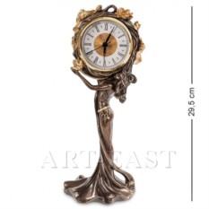 Часы Девушка и лотосы