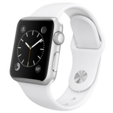 Apple Watch Sport 38mm with Sport Band (White)
