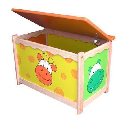 Ящик для игрушек с крышкой
