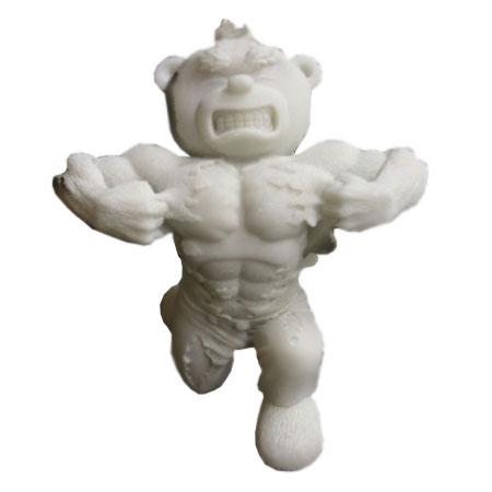 Нераскрашенный медведь Херо