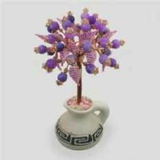 Дерево из агата Фиолетовый рай
