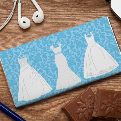 Шоколадная открытка Девичник