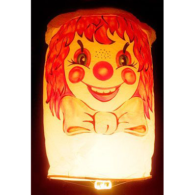 Небесный фонарик «Клоун»