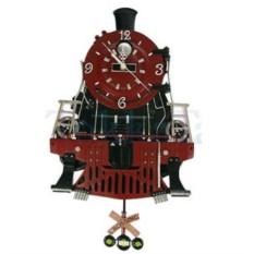 Часы настенные с маятником Поезд