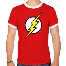 Мужская футболка рингер Знак супергероя