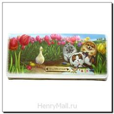 Портмоне-конверт «Тюльпаны»