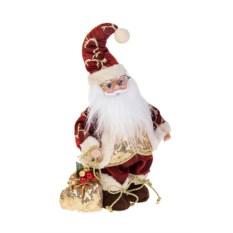 Двигающееся украшение Дед Мороз с мешком подарков
