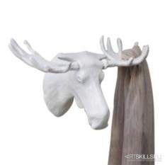Белая вешалка Мoose