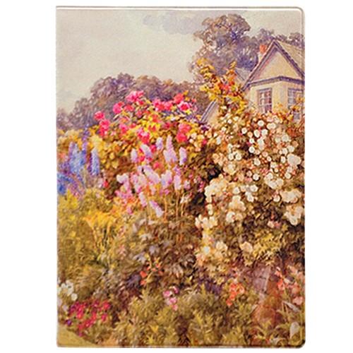 Обложка для паспорта Monet's garden