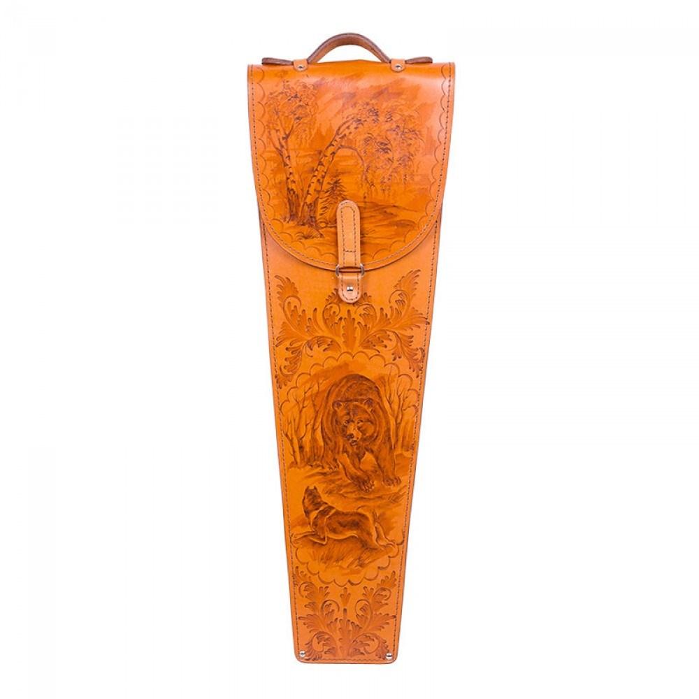 Шампура подарочные в колчане из кожи Медвежья сила