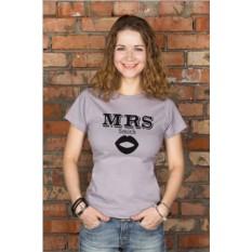 Футболка с вашим текстом Mr & Mrs Smith