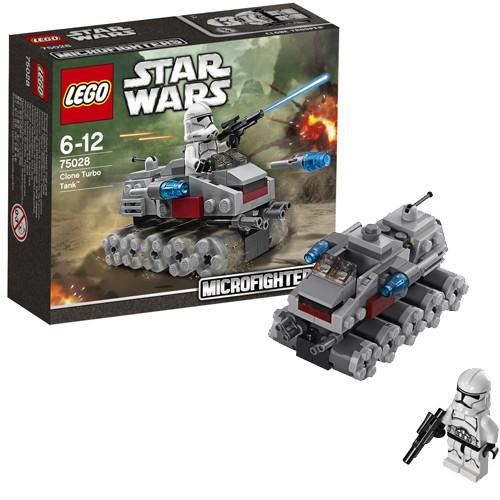 Конструктор Lego Star Wars Турботанк клонов