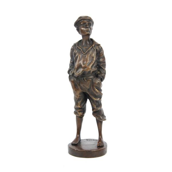 Бронзовая статуэтка Юнга