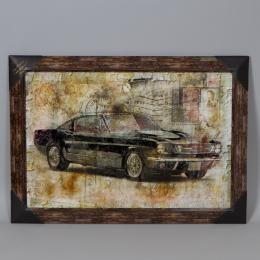 Декор-картина «Ретро авто»