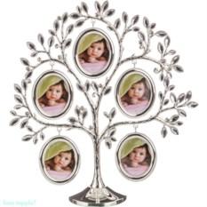 Фоторамка-дерево на 5 фото 5х6 см