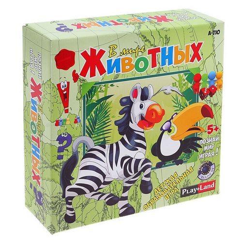 Настольная игра В мире животных PlayLand