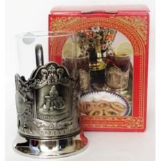 Подстаканник Приятного чаепития в подарочной коробке