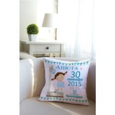 Декоративная именная подушка Азбука