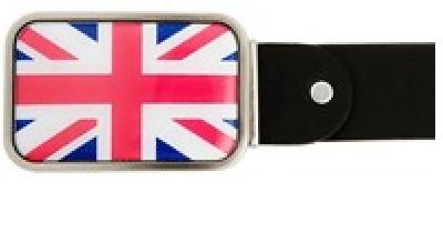 Ремень с пряжкой BB1 Английский флаг