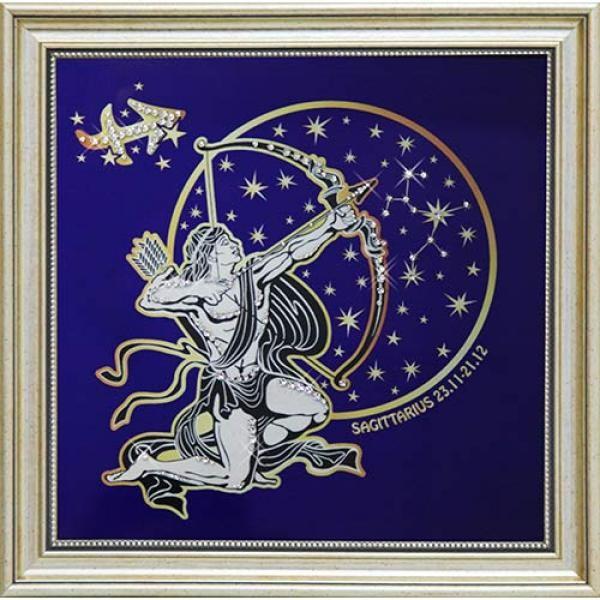 Картина Звездный Стрелец (с кристаллами Сваровски)