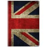 """Обложка для паспорта  """"Флаг Великобритании """".  OZAM33.  Обложки для документов, кошельки.  Модные аксессуары."""