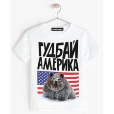 Детская футболка Goodbye America