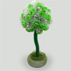 Дерево-топиарий из жемчуга Счастье