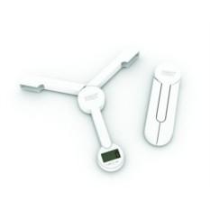 Белые складные кухонные весы Triscale