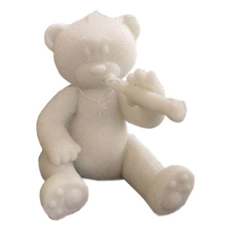 Нераскрашенный медведь Берни