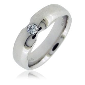 Мужское кольца с бриллиантом TTF-Luxury