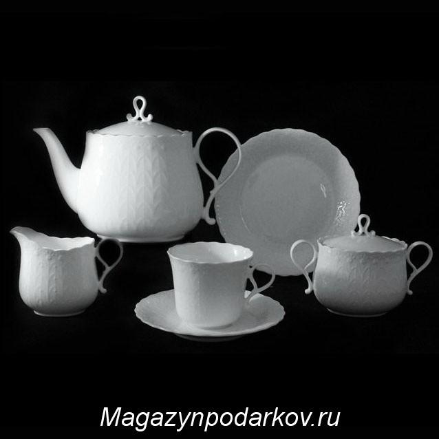Чайный сервиз на 12 персон Narumi  Шёлк