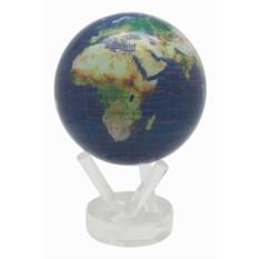 Синий глобус мобиле Вид из космоса