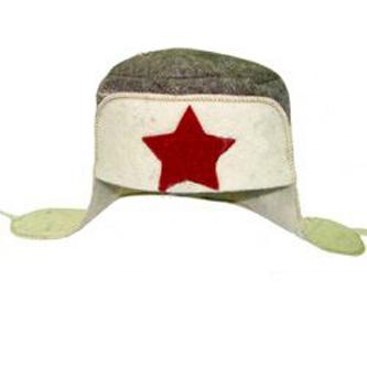 Шляпа для бани и сауны «Ушанка»