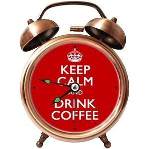 "Часы-будильник ""Keep Calm""."