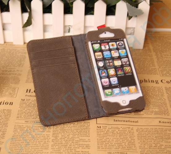 Чехол в виде книги на iPhone 5 / 5S / 5C BookBook