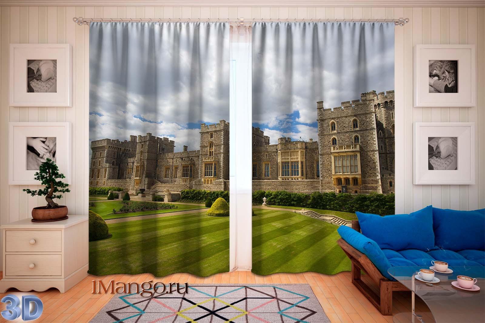 Фотошторы Лондонский замок