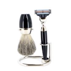 Черный набор для бритья S.Quire