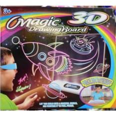 Магическая доска для рисования с 3D-эффектом