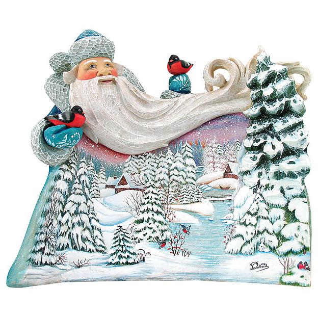 Игрушка новогодняя коллекционная «Дед Мороз»