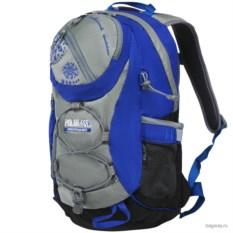 Серо-синий рюкзак Polar School