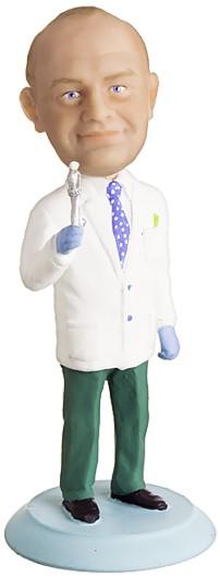 Подарок стоматологу по фото «Дантист»