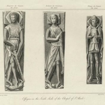 Капелла Святого Марка. Изображения в южном крыле