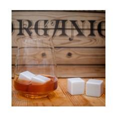 Камни для виски Белые классические