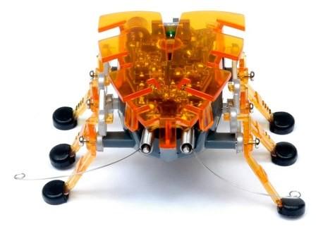 Микроробот Жук, оранжевый