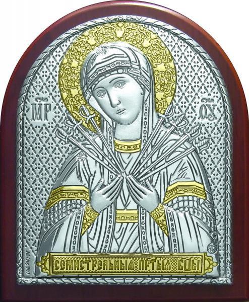 Икона образ богородицы Семистрельная