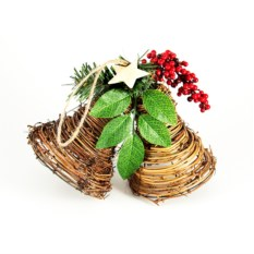 Настенное украшение Рождественские колокольчики