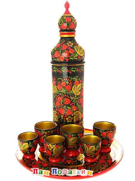 Набор для вина из 8 предметов Ягоды